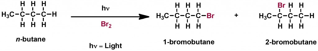 Figure 5. Bromination of alkane